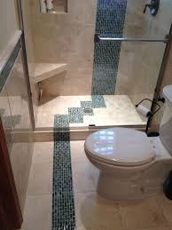 5 u0027 x 8 u0027 luxury bathroom remodeling frosted u0026 colored glass block