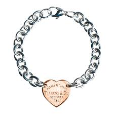tiffany heart tag bracelet silver images Vintage tiffany co heart tag bracelet jpg