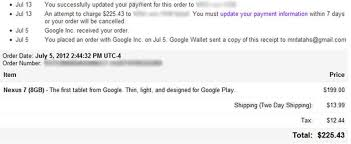 my google play order google wallet sooooo not ready for prime time zdnet