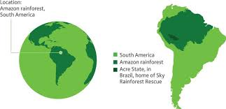 south america map rainforest rainforest nearing its end all thanks to its reckless