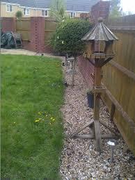 oak sleepers retaining walls patios turf garden leveling