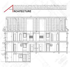 plan architecture architectural background part of architectural project
