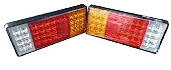 led tail lights for a trailer amazon com zxlight trailer semi rig truck bus led commercial 12v