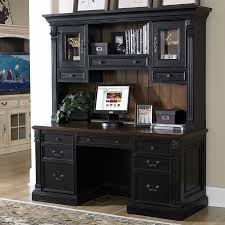 Desk Hutch Ideas Desk Outstanding Shop Rustic Computer With Hutch Intended For