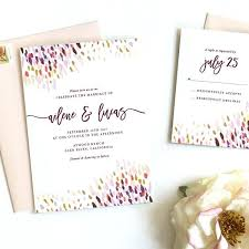 purple wedding invitation kits plum wedding invitations 5494 also rustic watercolor wedding