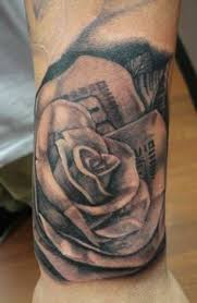 100 bill rose tattoo bandit ink sweet tattoos pinterest