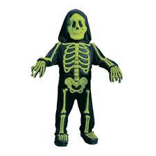 Skeleton Jumpsuit Halloween Easy Skeleton Costume For Boys