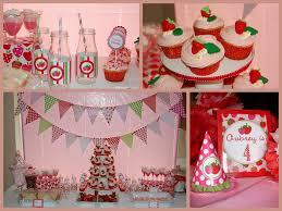 strawberry shortcake party avery u0027s birthday party pinterest