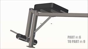 York Multi Function Bench Bench Press Assembly Video Youtube