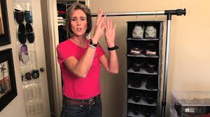 space saver ideas for shoes organizing with style youtube