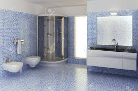 computer generated 3d bathroom interior stock photo picture and