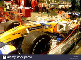 renault singapore renault formule 1 car in tax free shop of changi airport