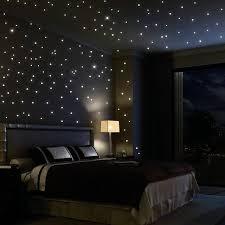 nice decoration bedroom christmas lights on wall home decorating