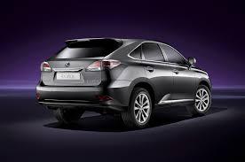 lexus hybrid 2014 2015 lexus rx350 and rx450h updated automobile magazine