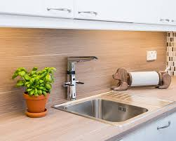 kitchen faucets for less 2727f oras optima a smart kitchen faucet with a touch less function