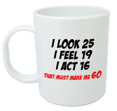 60 year birthday gifts makes me 60 mug 60th birthday gifts presents for men