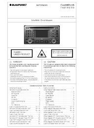 blaupunkt ford mp3 us service manual download schematics eeprom