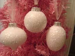 3 light pink glass ornaments 29 99 shabby crabby seashells