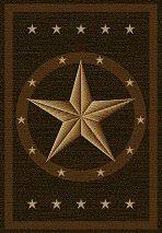 5x8 Kitchen Rugs Amazon Com Western Star Rug Dark Brown 5x8 Kitchen U0026 Dining