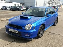 subaru impreza modified blue 2002 52 subaru impreza 2 0 wrx turbo saloon boost bhp modified