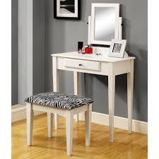 Makeup Vanities For Bedrooms With Lights Makeup Vanity White High Gloss Finish Wooden Makeup Table With