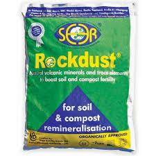 What Is Rock Dust For Gardens Rockdust Garden Minerals 20kg The Garden Factory