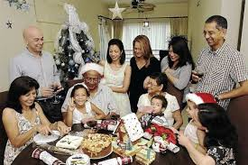 eurasian family calls malaysia home although most of them are