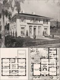 Colonial Revival House Plans 1921 Colonial Revival American Homes Beautiful Charles Lane