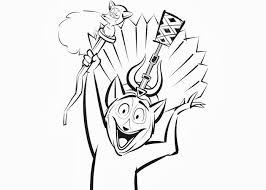 happy king julien xiii coloring page julian coloring pages