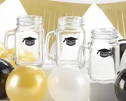 Jar Table L Congrats Graduation Cap 16 Oz Jar Mug Set Of 4 Kate Aspen