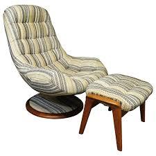 Swivel Chair And Ottoman R Huber Danish Modern Style Teak Swivel Lounge Chair And Ottoman
