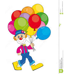 clown baloons clown with balloons royalty free stock photography image 19002177