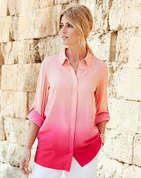ombre blouse high quality joanna ombre blouse womens blouses shirts