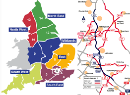 Derbyshire England Map by Amey Wins New Style Highways England Maintenance Deal