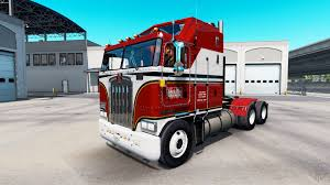 kenworth k100 skin billie joe on tractor kenworth k100 for american truck simulator