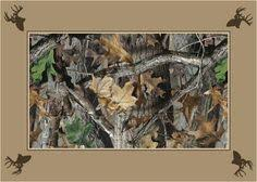Camo Area Rug Max 4 Realtree Leaves Branches Camouflage Area Rug