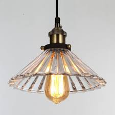 onepre vintage modern glass hanging lighting pendant light for