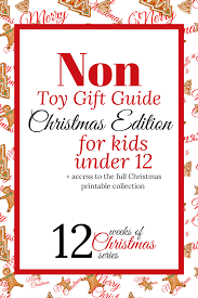 non toy gifts christmas edition for kids 12 and under