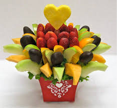 fruit flower arrangements how to make your own edible fruit arrangement crazeedaisee