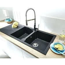 vasque evier cuisine evier cuisine granit vasque evier cuisine evier a encastrer noir 2