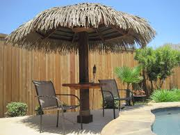 modest design palapa thatch winning bamboo umbrella crafts home
