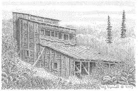 a place in fairbanks mining history soon lost forever sketches