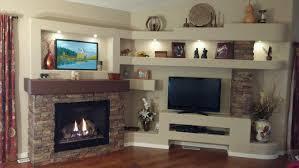 amazing diy media center u0026 fireplace creative faux panels