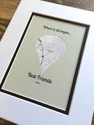 hochzeitsgeschenk f r freunde wo it all began geschenk für beste freunde lange distanz