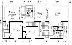 Custom Ranch Floor Plans Home Designs One Story House Cpiat Com Home Plans With Open Bat