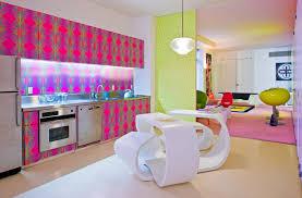Karim Rashid Interior Design Spotlighting Karim Rashid Inside The Pink Swirls Of His Pop