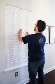 Shutter Blinds Diy How To Measure For And Install Plantation Shutters Just A