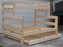 Wood Twin Loft Bed Plans by Best 25 Queen Size Bunk Beds Ideas On Pinterest Full Beds Full