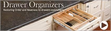 RevAShelf Hafele Knape  Vogt Omega National Products Drawer - Kitchen cabinet drawer dividers