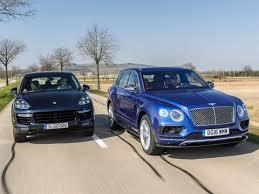 porsche cayenne turbo vs turbo s bentley bentayga vs porsche cayenne turbo s